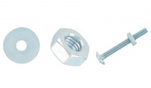 Hot Dipped Galv Roofing Bolts & SQ Nuts