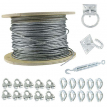Stainless Steel Catenary Wire Kits