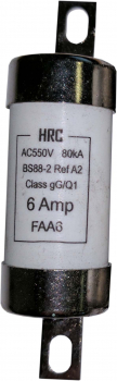 A2 Type HRC Fuse - Offset Bolted