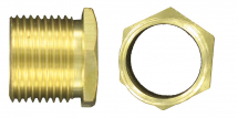 BRASS MALE BUSHES LONG 1 1/2''