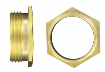 BRASS MALE BUSHES SHORT 1 1/2''