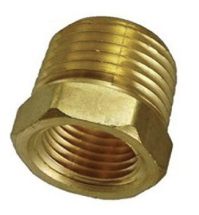 BRASS HEX REDUCER 32-25