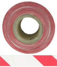 BARRIER TAPE RED/WHITE