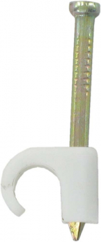 5-7MM ROUND EXPANDING CLIP WHITE