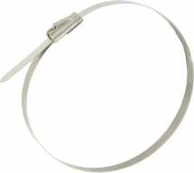 4.6 x 300 STAINLESS STEEL BALL LOCK CABLE TIE