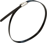 7.9 x 520 S/STEEL BLACK COATED CABLE TIE