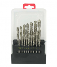 19PC H.S.S. DRILL BIT SET