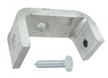 LRGE TYPE BEAM CLAMP WITH CONE POINT