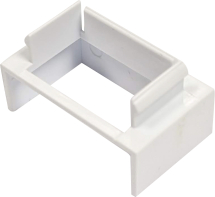16MM X 16MM TRUNKING ADAPTOR FOR SURFACE BOXES