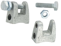 M8 BEAM CLAMPS THREADED (G CLAMP)