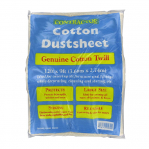 LAMINATED COTTON DUST SHEET