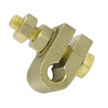 3/8'' MACHINED BRASS CLAMP