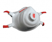 WARRIOR 0116MMR3V DUST MASK FFP3 - VALVED