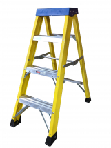 4 TREAD FIBREGLASS STEP LADDER