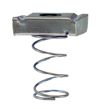 M6 HOT DIPPED GALV LONG SPRING CHANNEL NUT