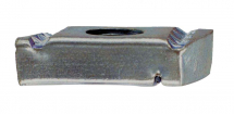 M8 HOT DIPPED GALV PLAIN (NO SPRING) CHANNEL NUT