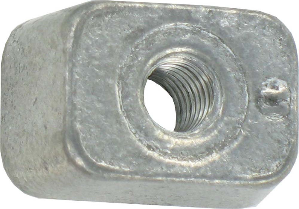 M8 RIB DECK 60 WEDGE NUT (RND CORNER)