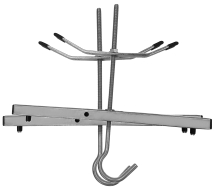 LADDER CLAMPS FOR ROOF RACK