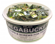 Fire Clips & Screw Mega Bucket