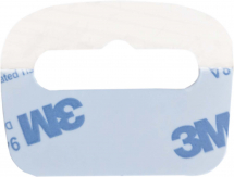 Lightweight Euro-hole Self-Adhesive Plastic Hanging Tags