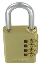 30MM BRASS CONBINATION LOCK B1196