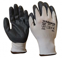 GREY NITRILE GLOVES SIZE 8 0111WFE/8