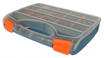 ORGANISABLE CARRY CASE WITH ORANGE INSERTS